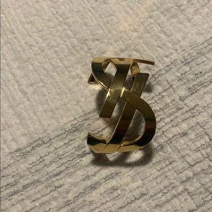 YSL initials bracelet